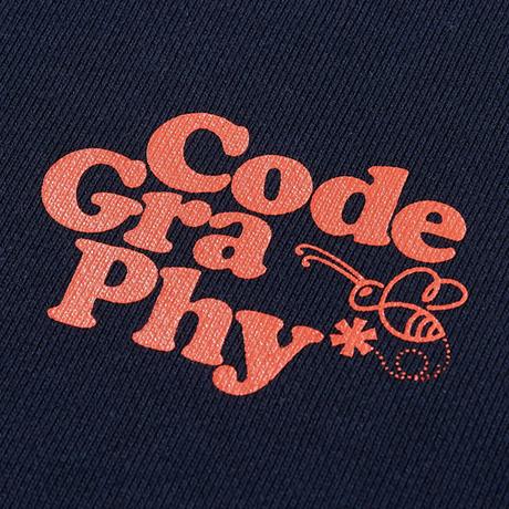 『Code:graphy』  プラネットツリースウェット (Navy)