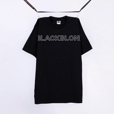 Blackblond Basic Border Logo Tee (Black)