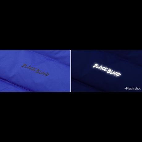 『BLACKBLOND』  パッチショートダックダウンジャケット (Blue)