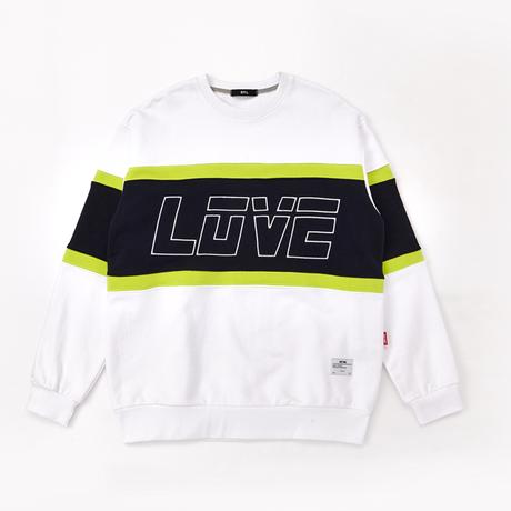 BY.L  LOVE LINE SWEATSHIRT (White)