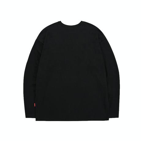 『TRIPSHION』  トリプルゼントルマンロング Tシャツ (Black)