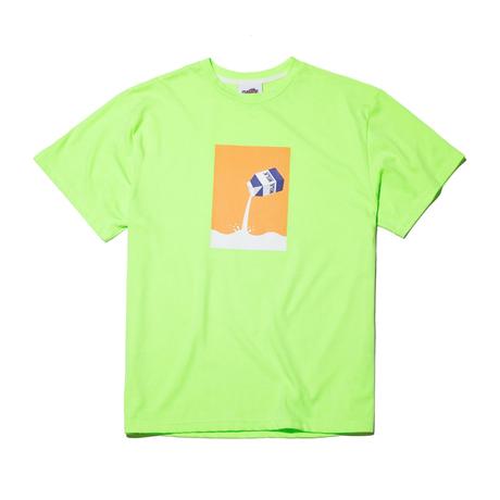 『Motivestreet』 ミルク  Tシャツ (NeonLime)