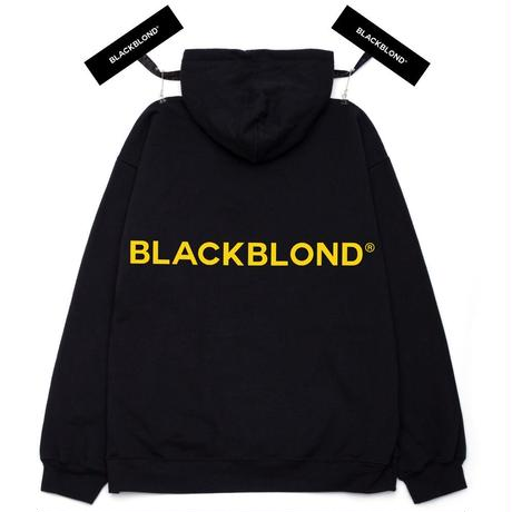 『BLACKBLOND』  クラシックスマイルロゴパーカー (Black)