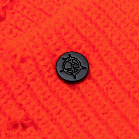 『BLACKBLOND』    リップトカスタムロングニット帽 (Orange)