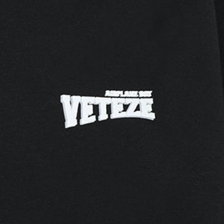 『VETEZE』  エアプレーンロングスリーブTシャツ (Black)