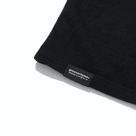『grooverhyme』  ハートオブノマド Tシャツ (Black)