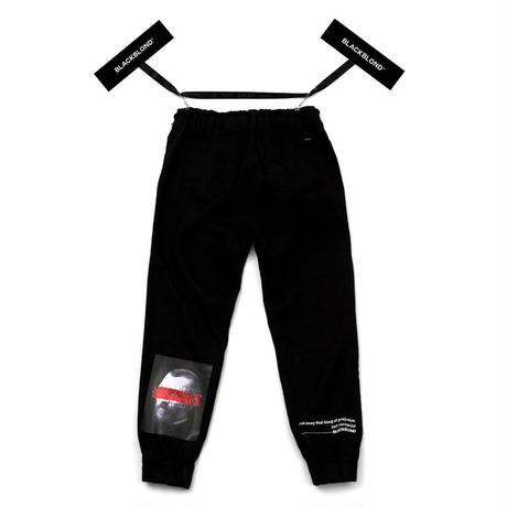 Blackblond Brutal Jogger Pants (Black)