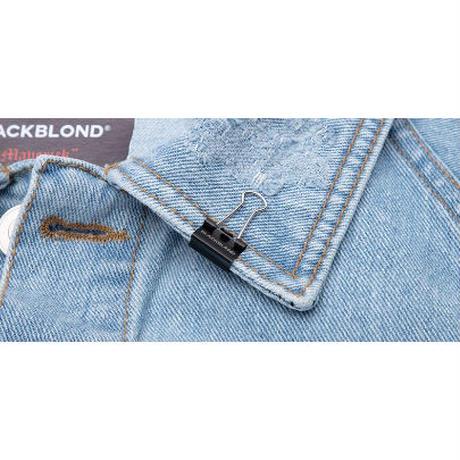 『BLACKBLOND』   マーベリックデニムジャケット (Light Blue)