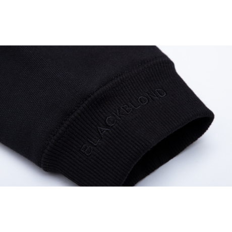『BLACKBLOND』  クラシックスマイルロゴスウェット (Black)