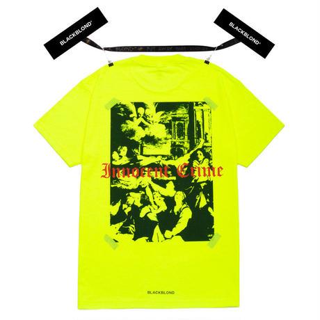 『BLACKBLOND』 イノセントシャドーショートスリーブ Tシャツ (Neon)