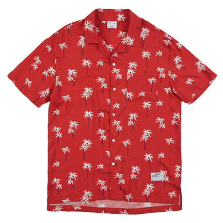 BY.L  HAWAIAN SHIRT (Red)