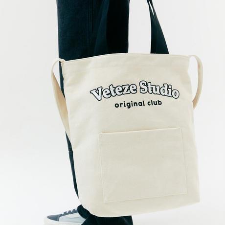 『VETEZE』  スタジオポケットエコバッグ (Cream)