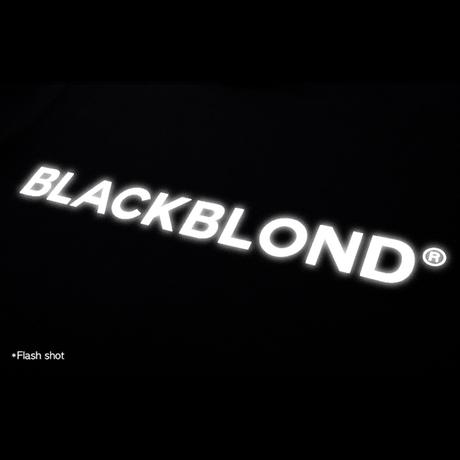 『BLACKBLOND』  リフレクションクラシックスマイルロゴパーカー (Black)