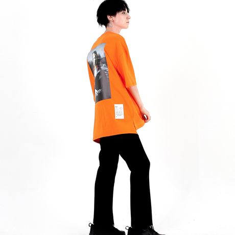 BY.L  REWORK ART T (Orange)