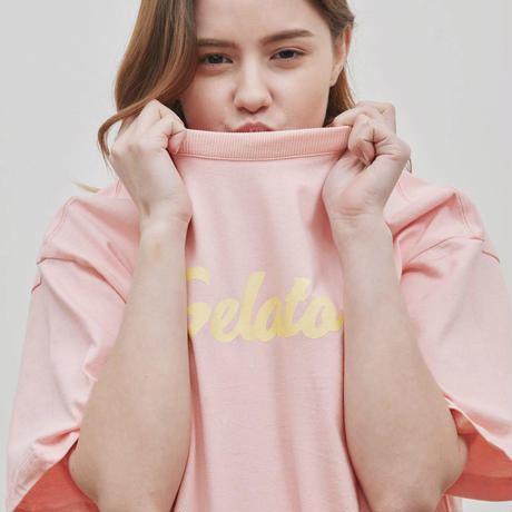 『Verynineflux』  イメジュリーTシャツ (Pink)