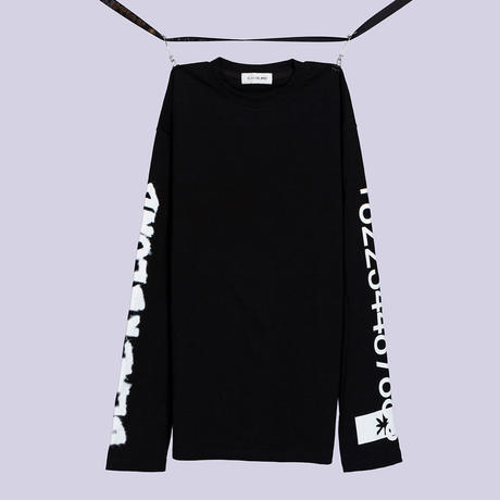 Blackblond BBD Graffiti Number Tee (Black)