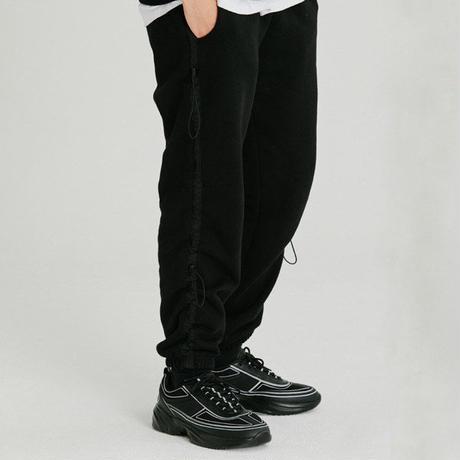 『Motivestreet』 ストリングライントレーニングジョガーパンツ (Black)