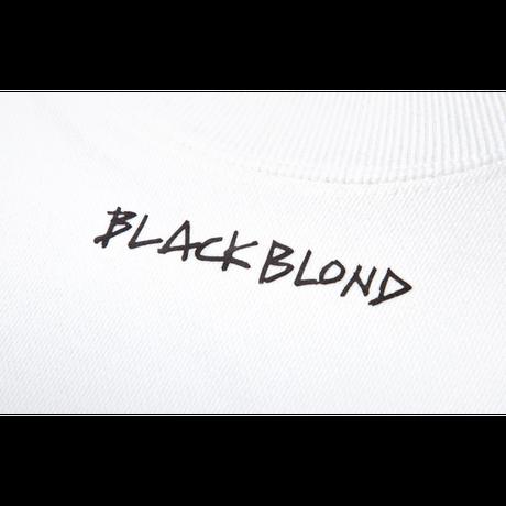 『BLACKBLOND』  イノセントクライムスウェット (White)