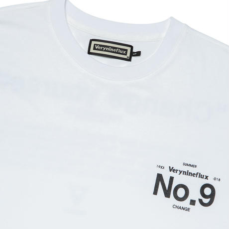 Verynineflux NINTH T-SHIRT (White)