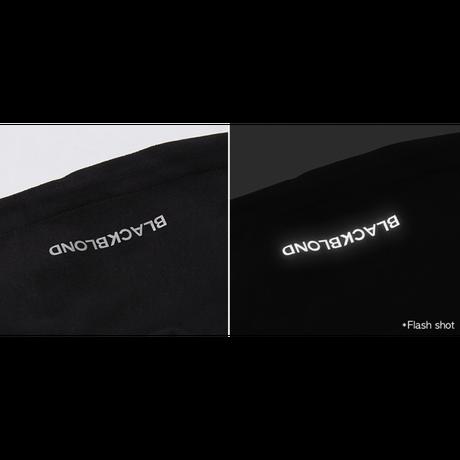 『BLACKBLOND』 デビルスマイルロゴパーカー (Black)