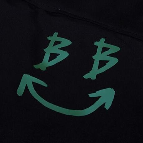 『BLACKBLOND』  デビルスマイルショートダックダウンジャケット (Black)