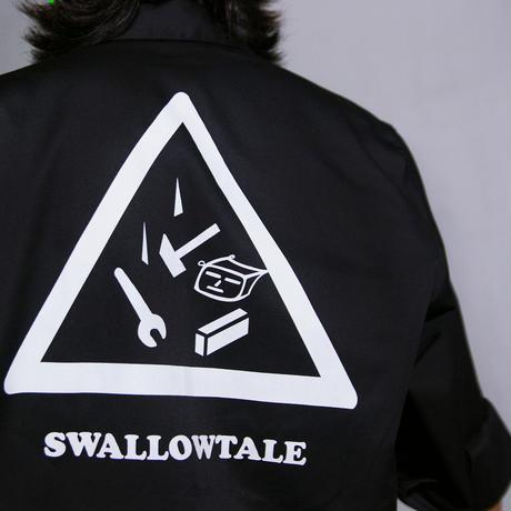 Swallowtale Hologram combination Shirts (Black)