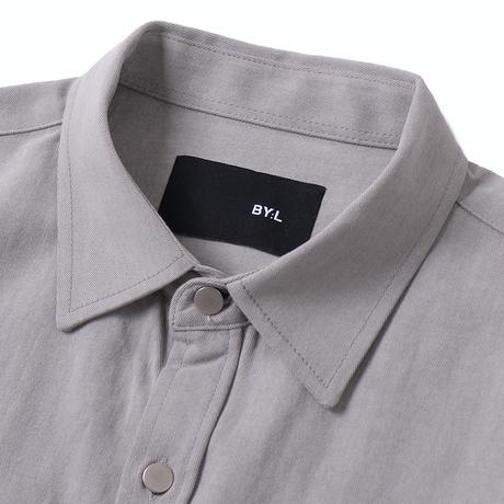 『 BY:L 』    ピグメントオーバーシャツジャケット (Grey)