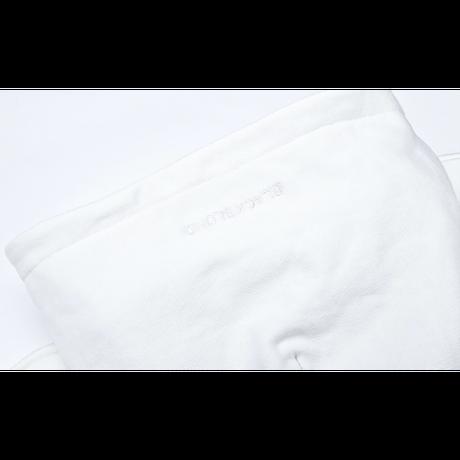 『BLACKBLOND』  リフレクションクラシックスマイルロゴパーカー (White)