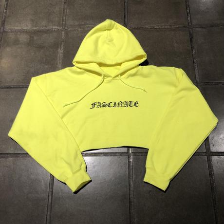 FASCINATE crop hoodie