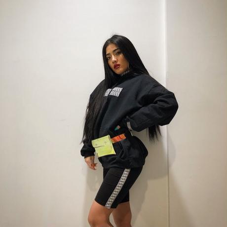 F line hoodie