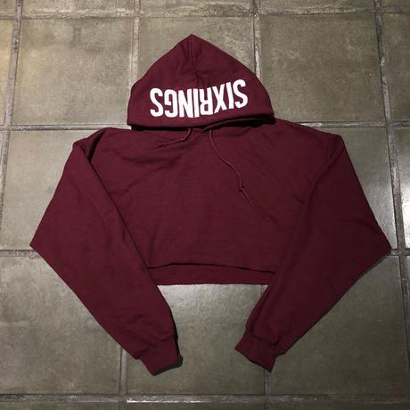 SIXRINGS crop hoodie