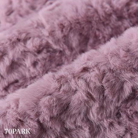 #Belted Faux Fur Jacket  ベルテッド フェイクファー ジャケット 全4色  コート