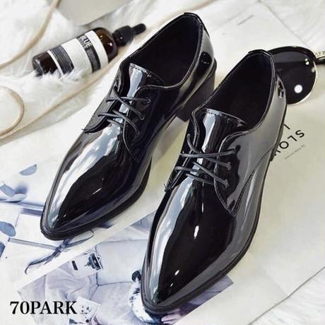 #Lace up Oxford Shoes レースアップ オックスフォード シューズ 全2タイプ