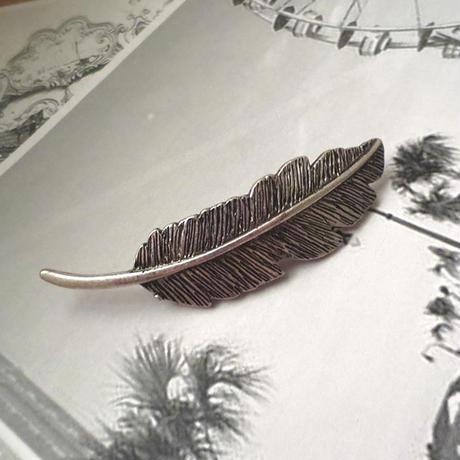 再入荷#Silver Feather Barratte シルバーフェザーバレッタ