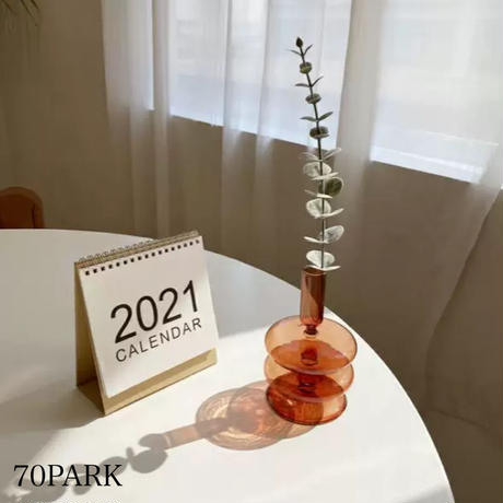 #ブラウンカラー ミニ フラワーベース 全2タイプ 花瓶 一輪挿し