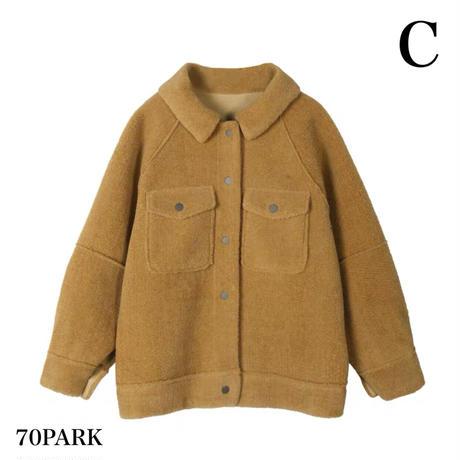 #Oversized Boa Jacket  オーバーサイズ  ボア ジャケット 全3色