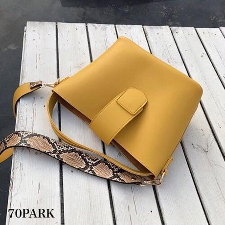 #Python strap bag  パイソン柄 ストラップ ショルダーバッグ 全3色