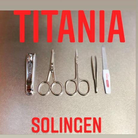 TITANIA Double Foot File