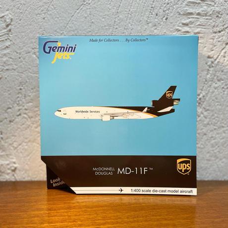 Gemini Jets ダイキャストモデル MD-11F 1:400scale