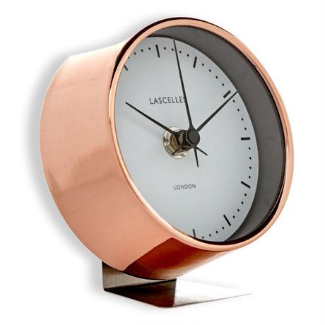 lascelles<MODERAN STYLE ALARM CLOCK> COPPER
