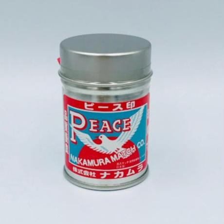 ピース印 アウトドア・スチール缶マッチ
