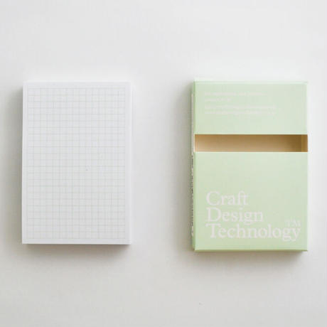 CDT Adhesive Notes <White / 3mm grid>