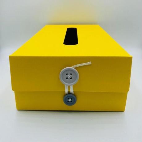 BUTTON TISSUE BOX