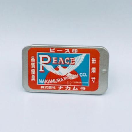 ポケット缶マッチ・ピース印