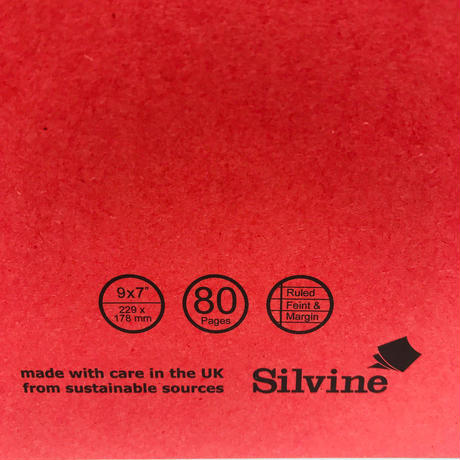 SILVINE シルバイン ブリットノート