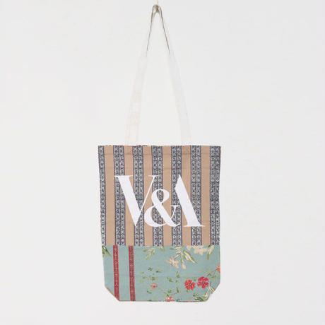 V&A THE FABRIC OF INDIA TOTE BAG/K