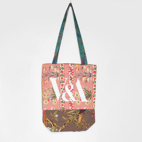 V&A THE FABRIC OF INDIA TOTE BAG/D