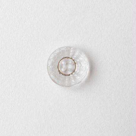 VINTAGE GLITTERRING GLASS BUTTON