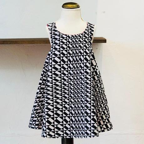 北欧ブランドプリント柄ワンピース Kids dress Dali print