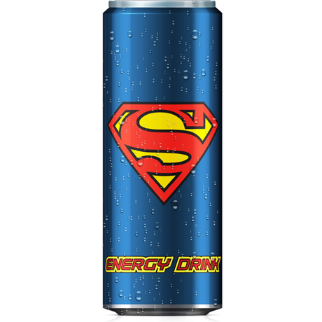SUPERMAN ENERGY DRINK 24本セット